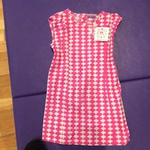 Dress with back buttons